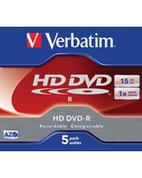 HD DVD-R 15GB 5 PK - Verbatim