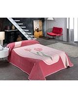 B Gold 831 blanket size 220x240 Pink - Mora
