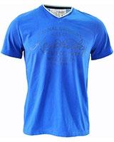 Short Sleeve T-Shirt 02BS024 Blue - Dandy