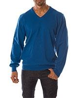 V-Neck Pullover 04KY800 Blue - Dandy
