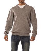 V-Neck Pullover 04KY800 Gray - Dandy