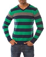 V-Neck Pullover 04ZS029 Green - Dandy