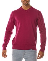 V-Neck Pullover 04ZS055 Dark Red  - Dandy