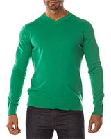 V-Neck Pullover 04ZS055 Green - Dandy