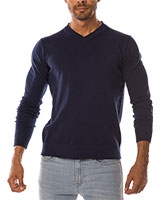 V-Neck Pullover 04ZS055 Navy - Dandy