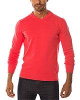 V-Neck Pullover 04ZS055 Pink - Dandy