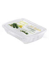 Fresh Container 1.5L Rectangular Set Of 2 Pieces With Decoration - Snips
