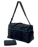 XL Folding Bag - Travel Blue