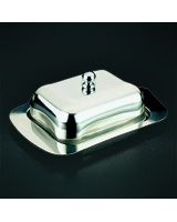 Stainless Steel Butter Plate with Lid 8002521853303 - Metaltex