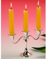 Small 3 Light Candelabra 0/803 - Queen Anne