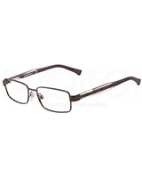 Men's Optical Glasses 1002 Matte Brown 3020 - Emporio Armani