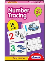 Number Tracing Cards - Frank
