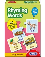 Rhyming Words Puzzle - Frank