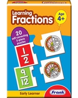 Learning Fractions Puzzle - Frank