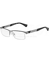 Men's Optical Glasses 1014 Matte Gunmetal 3003 - Emporio Armani