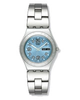 Ladies Ciel Clair Stainless Steel Bracelet Watch YLS702G - Swatch