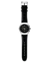 Your Turn Black Unisex Watch YOS440 - Swatch