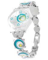 Ladies Check Pea Watch LK267G - Swatch