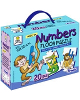 Numbers Floor Puzzle. Puzzle - Frank