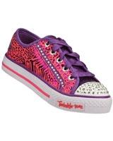 Shuffles Gimmie Glam Pink 10331L-HPPR - Skechers