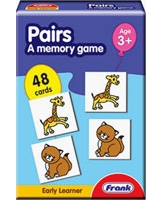 Pairs A Memory Game Cards - Frank