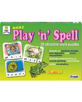 More Play 'N' Spell Puzzle - Frank