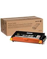 Standard Capacity Yellow Toner Cartridge for Phaser 6280 - Xerox