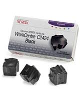 Genuine WorkCentre C2424 Solid Ink Black 3 sticks - Xerox