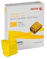 Colorqube Ink Yellow Colorqube 6 Sticks for ColorQube 8870 - Xerox