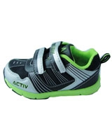 Shoes Black/Silver/Light Green AC_962 - Jel Activ