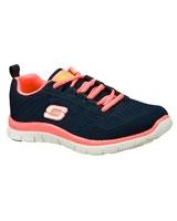 Flex Appeal Sweet Spot Navy/Hot Pink 11729-NVHP - Skechers