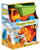 Small Camion in a Box with 45 Pieces Blocks - Dede