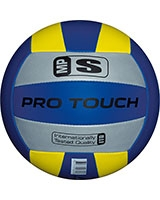 MP-School Volleyball 137212 Silver/Blue/Yellow - Protouch