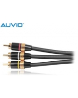 AUVIO® 3-Ft. Composite Video/Stereo Audio Cable - RadioShack