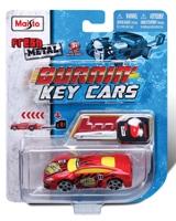Burnin Key Cars - Maisto Die-Cast