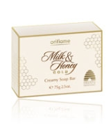 Milk & Honey Gold Creamy Soap Bar - Oriflame