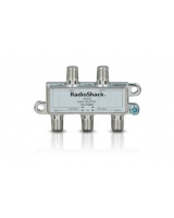 Satellite 4-Way Splitter - RadioShack