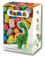 One Dinosaur 70 Pieces - PlayMais