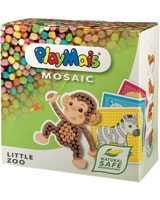 Mosaic Little Zoo 2.300 Pieces - PlayMais