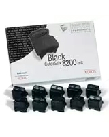 10 Black ColorStix 8200 Ink Sticks For Phaser™ 8200 - Xerox