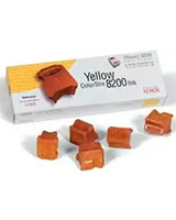 5 Yellow ColorStix 8200 Ink Sticks For Phaser™ 8200 - Xerox