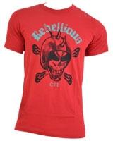 Printed T-Shirt Short Sleeve Rebellious N2304
