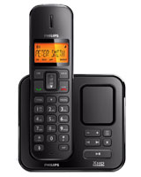 Cordless Phone with answering machine Black SE1751B - Philips