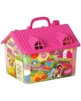 Dora House With Blocks 51 pieces - Dede