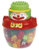 Abrick Clown Barrel - Ecoiffier