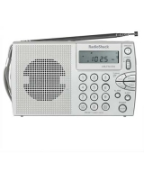 Compact Portable AM/FM/Shortwave Radio - RadioShack