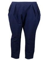 Cotton Trousers 202 Navy - M.Sou