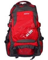 Back Bag Red x Black AC-22618 - Jel Activ