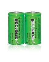 "Enercell® 1.2V/3500mAH Ni-MH ""C"" Rechargeable Batteries 2-Pack - RadioShack"