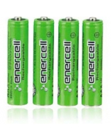 "Enercell® 1.2V/850mAh ""AAA"" Ni-MH Rechargeable Batteries 4-Pack - RadioShack"